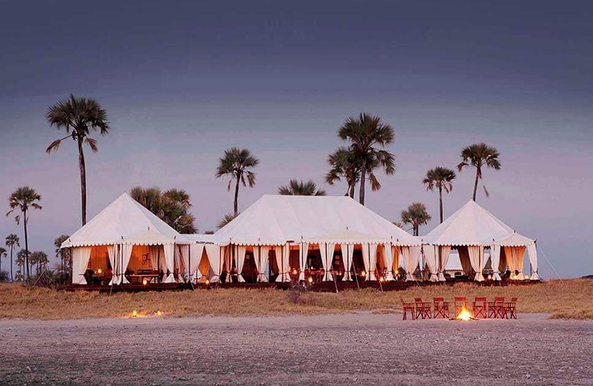 Epic camp in Botswana, Escape to Africa Safari