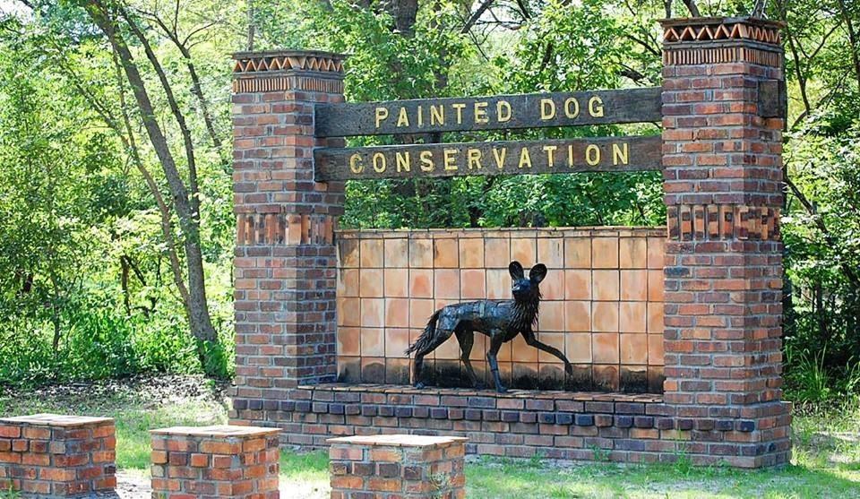 Painted Dog Conservation entrance, Dete