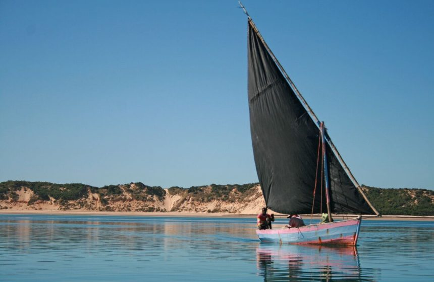 Fishing Dhow, Mozambique